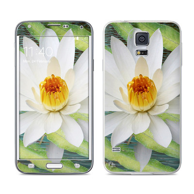 Samsung Galaxy S5 Skin - Liquid Bloom