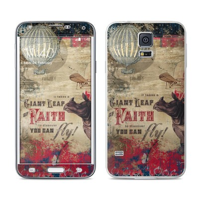 Samsung Galaxy S5 Skin - Leap Of Faith