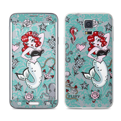 Samsung Galaxy S5 Skin - Molly Mermaid