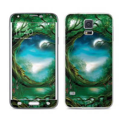 Samsung Galaxy S5 Skin - Moon Tree