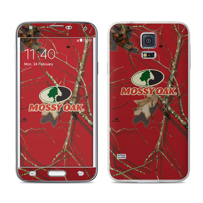 Samsung Galaxy S5 Skin - Break-Up Lifestyles Red Oak