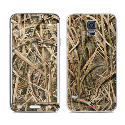Samsung Galaxy S5 Skin - Shadow Grass Blades