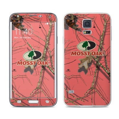 Samsung Galaxy S5 Skin - Break-Up Lifestyles Salmon
