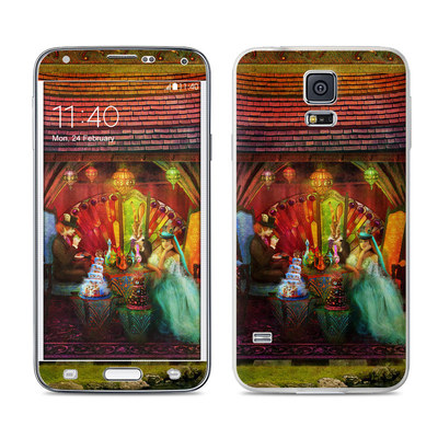 Samsung Galaxy S5 Skin - A Mad Tea Party