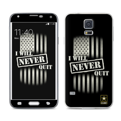 Samsung Galaxy S5 Skin - Never Quit