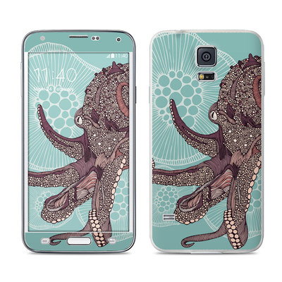 Samsung Galaxy S5 Skin - Octopus Bloom