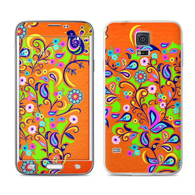 Samsung Galaxy S5 Skin - Orange Squirt