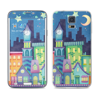 Samsung Galaxy S5 Skin - Our Town