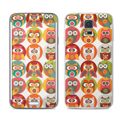 Samsung Galaxy S5 Skin - Owls Family