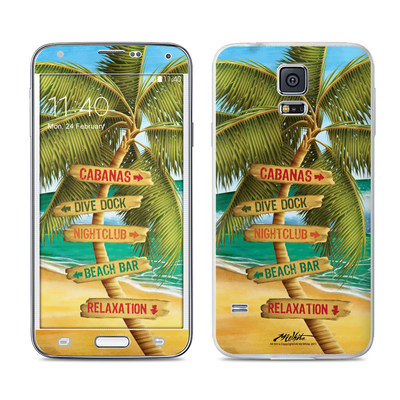 Samsung Galaxy S5 Skin - Palm Signs