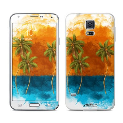 Samsung Galaxy S5 Skin - Palm Trio