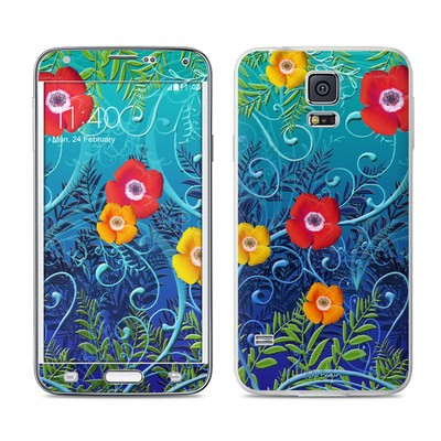 Samsung Galaxy S5 Skin - Poppies