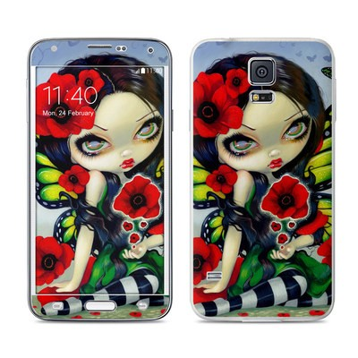 Samsung Galaxy S5 Skin - Poppy Magic