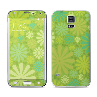 Samsung Galaxy S5 Skin - Lime Punch
