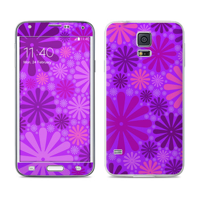 Samsung Galaxy S5 Skin - Purple Punch