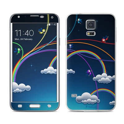 Samsung Galaxy S5 Skin - Rainbows