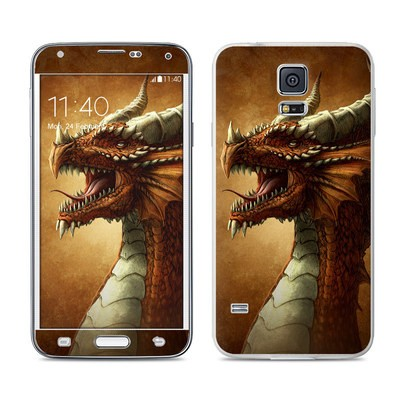 Samsung Galaxy S5 Skin - Red Dragon