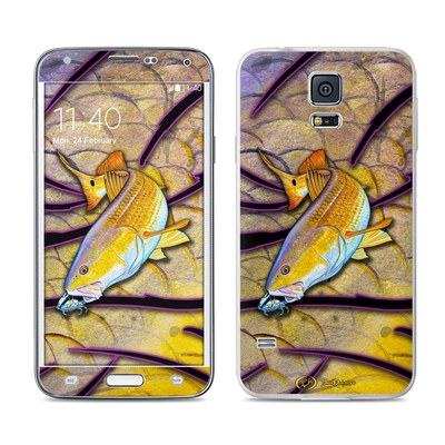 Samsung Galaxy S5 Skin - Red Fish