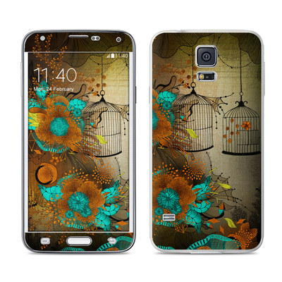 Samsung Galaxy S5 Skin - Rusty Lace