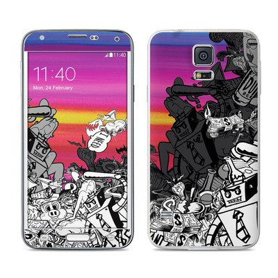 Samsung Galaxy S5 Skin - Robo Fight