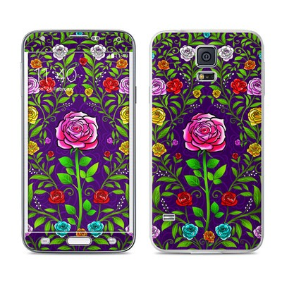 Samsung Galaxy S5 Skin - Rose Burst