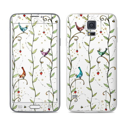 Samsung Galaxy S5 Skin - Royal Birds