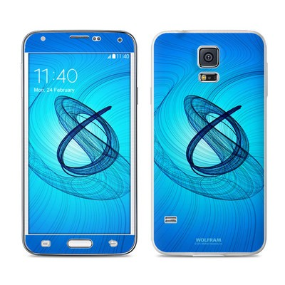 Samsung Galaxy S5 Skin - Rotating Swirls