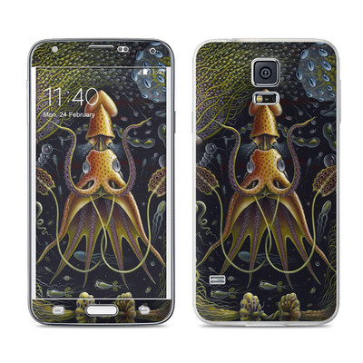 Samsung Galaxy S5 Skin - Sea Flowers