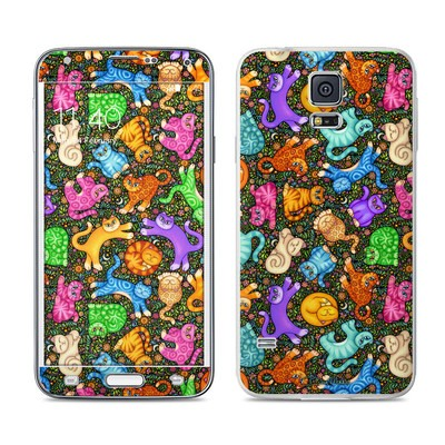 Samsung Galaxy S5 Skin - Sew Catty