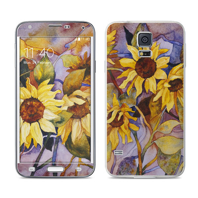 Samsung Galaxy S5 Skin - Sunflower