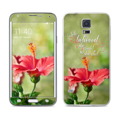 Samsung Galaxy S5 Skin - She Believed