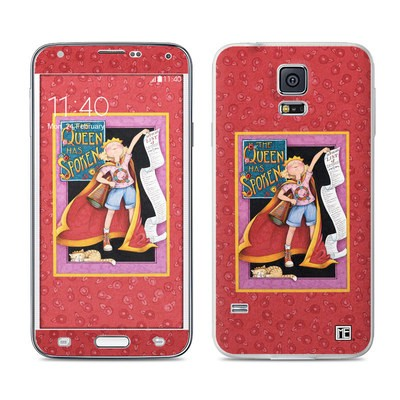 Samsung Galaxy S5 Skin - Queen Has Spoken