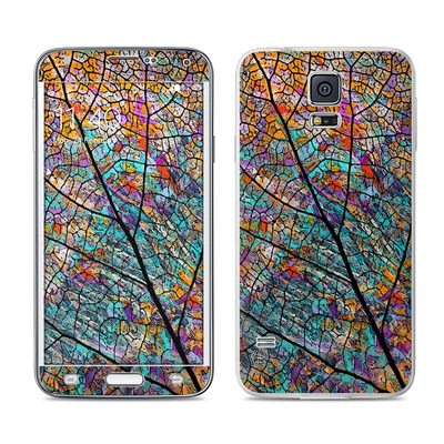 Samsung Galaxy S5 Skin - Stained Aspen