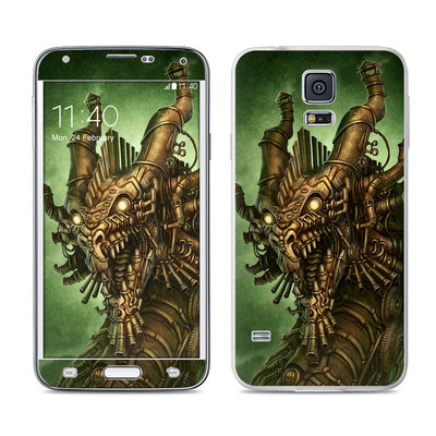 Samsung Galaxy S5 Skin - Steampunk Dragon