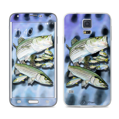 Samsung Galaxy S5 Skin - Striped Bass