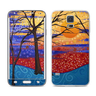 Samsung Galaxy S5 Skin - Sunset Moon