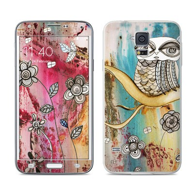 Samsung Galaxy S5 Skin - Surreal Owl