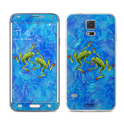Samsung Galaxy S5 Skin - Tiger Frogs