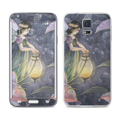 Samsung Galaxy S5 Skin - Twilight Lilies