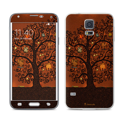Samsung Galaxy S5 Skin - Tree Of Books