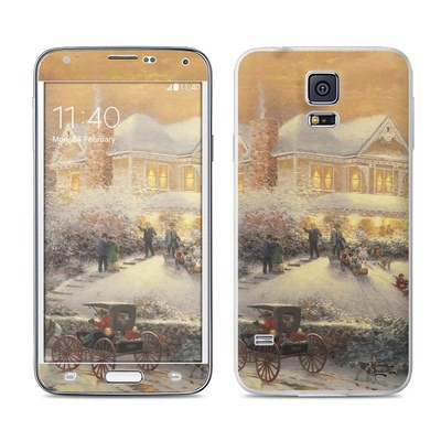 Samsung Galaxy S5 Skin - Victorian Christmas