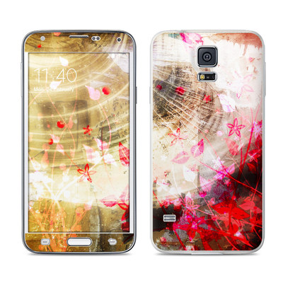 Samsung Galaxy S5 Skin - Woodflower