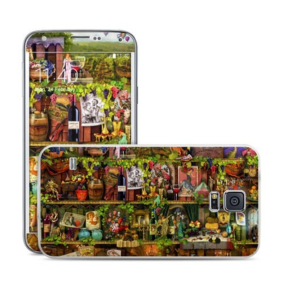 Samsung Galaxy S5 Skin - Wine Shelf