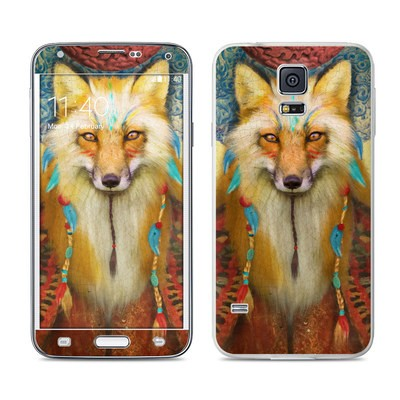 Samsung Galaxy S5 Skin - Wise Fox