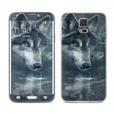 Samsung Galaxy S5 Skin - Wolf Reflection
