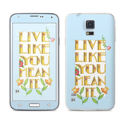 Samsung Galaxy S5 Skin - Mean It