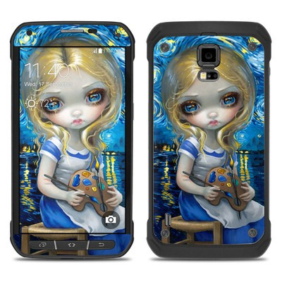 Samsung Galaxy S5 Active Skin - Alice in a Van Gogh