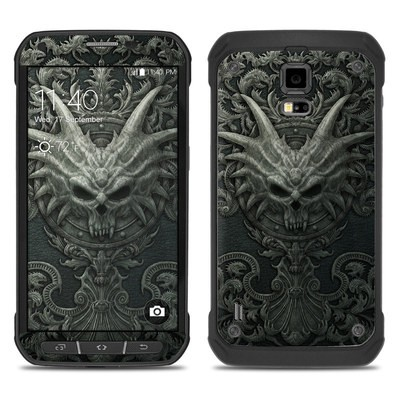 Samsung Galaxy S5 Active Skin - Black Book
