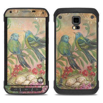 Samsung Galaxy S5 Active Skin - Splendid Botanical