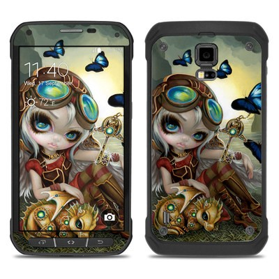 Samsung Galaxy S5 Active Skin - Clockwork Dragonling